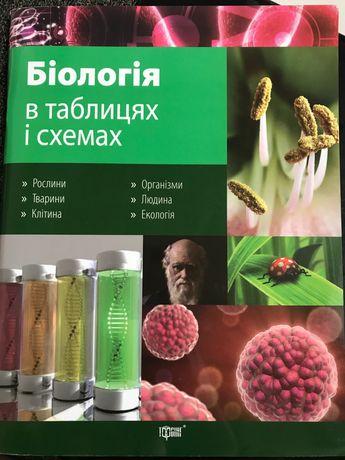 Біологія в таблицях і схемах