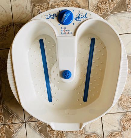 Гидромассажная ванночка для ног Wigo Whirl с режимом вибрации и подогр