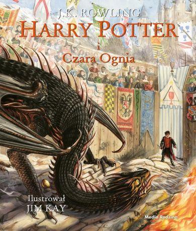 Harry Potter i Czara Ognia - ilustrowana - J.K. Rowling