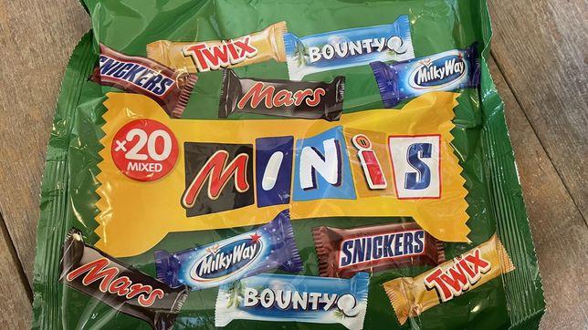 Цукерки Minis Twix Snickers Bounty Mars