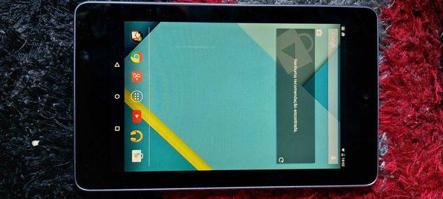 Vendo tablet Asus nexus bom  fucionar