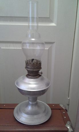 Керасиновая керосиновая лампа ссср керосинка алюминевая