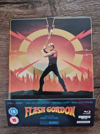 Flash Gordon 4K Steelbook