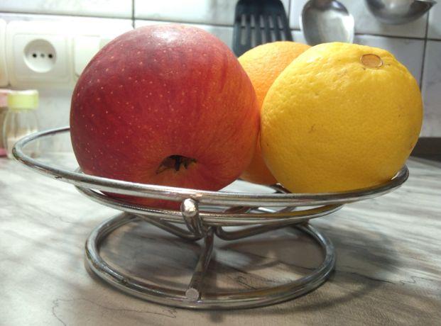 Ваза для фруктов из нержавеющей стали Фруктовница
