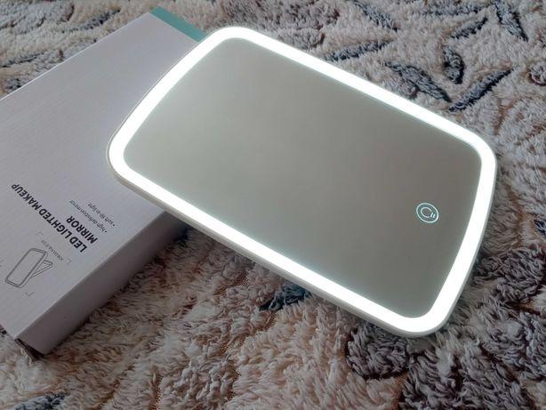 Настольное зеркало Xiaomi с регулируемой по яркости подсветкой