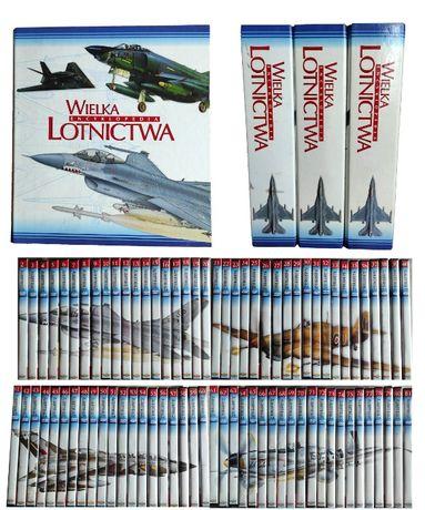 Wielka encyklopedia LOTNICTWA 2-81 + PŁYTY DVD 2-81