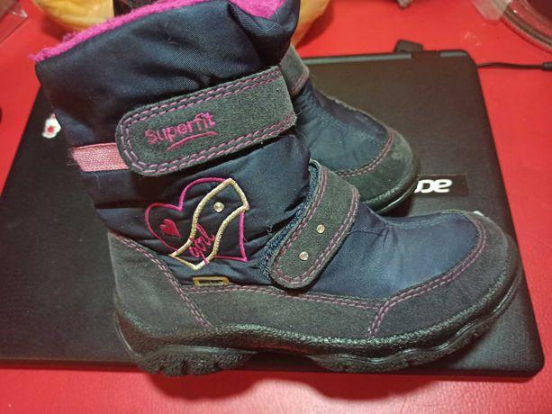Ботинки Superfit, зима, по стельке 20.2 см, 31 размер