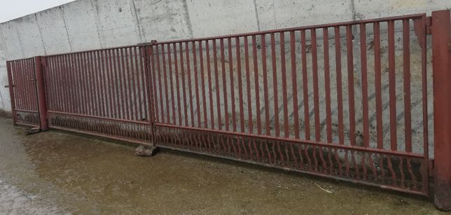 brama wjazdowa 6 metrów