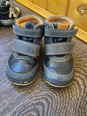 Ботинки для хлопчика Geox, 21 розміру, 13,5 см