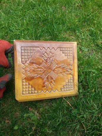 kafle piecowe ceramiczne retro