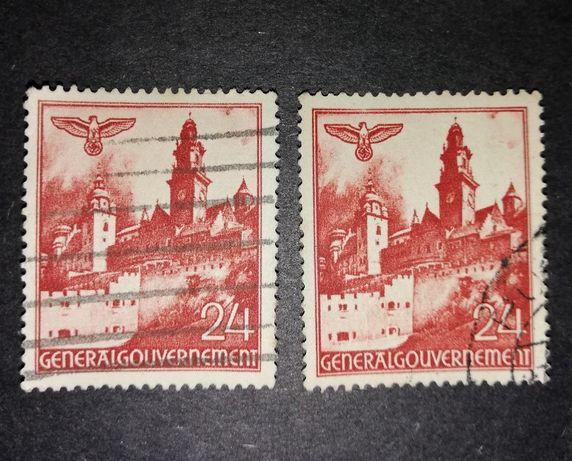 Znaczki General Gouvernement 24 - Wawel in Krakau