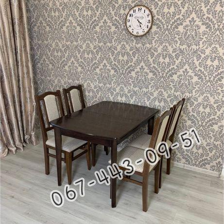 Кухонный комплект Классик. Стол и стулья. Столы. Стулья