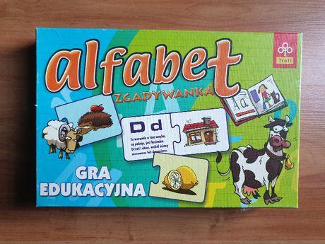 Alfabet zgadywanka gra edukacyjna