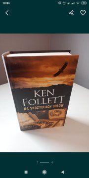 Ken Follett Na skrzydłach orłów NOWA twarda