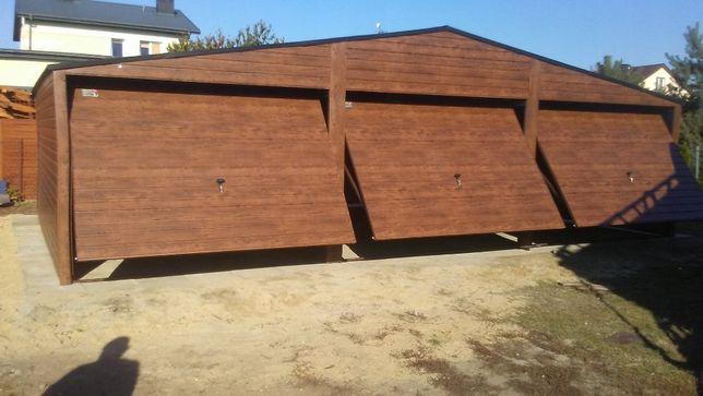 Garaż blaszany blaszak od producenta kolor na wymiar 9x6