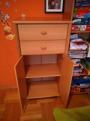 Komplet mebli dziecięcych/młodzieżowych (biurko, komoda, szafa)