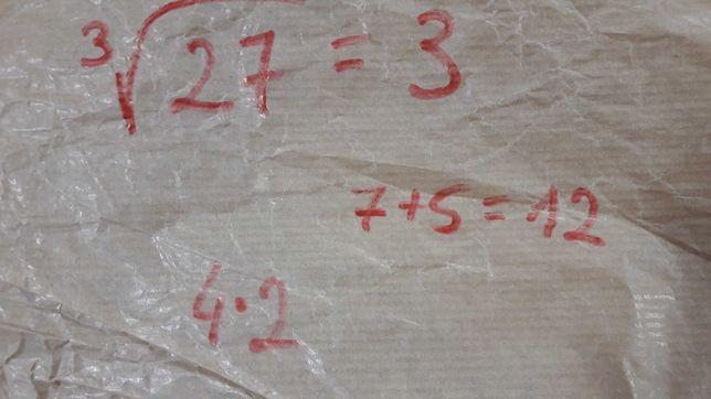 Pakiet zadań z matematyki klasa 7 i 8