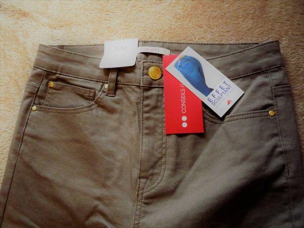 Spodnie Camaieu Slim 38 NOWE wyprzedaż