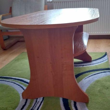 Ława, stolik z półką