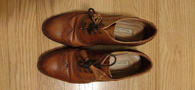 Sapato estilo oxford Massimo Dutti