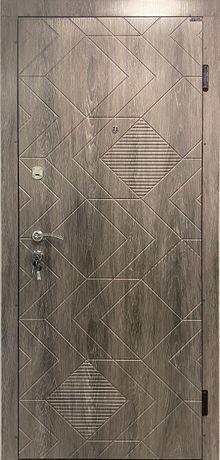 Входная дверь ТМ Портала Концепт - модель Ромбус (Украина)