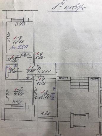 Магазин/Квартира на 1му поверсі на Грінченка 13 (бізнес, приміщенння)