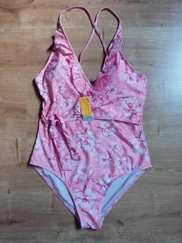 Jednoczęściowy strój kąpielowy M/L (nowy)