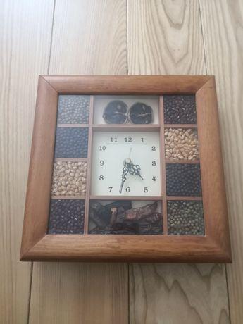 Zegar, zegarek na baterie. Stylowy i ładny do kuchni, pokoju. Polecam!