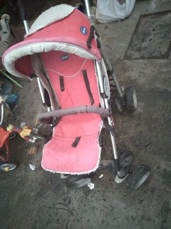 Полностью рабочая коляска с полным комплектом