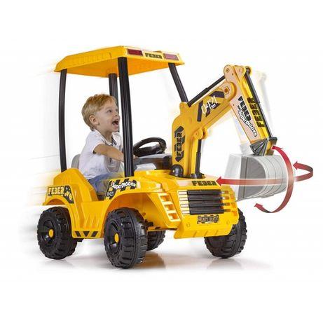 Koparka dla dzieci na akumulator 12V Digger