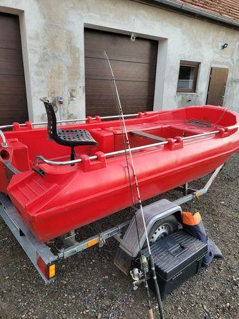 łódź wędkarska spining sum polietylen