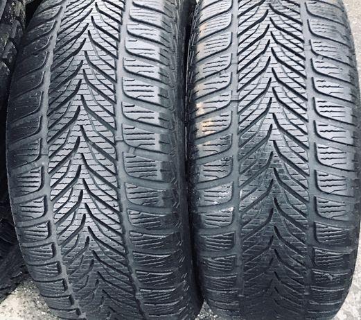 Sava 215/55r16 2 шт пара зима резина шины б/у склад