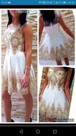 Śliczna sukienka s! 36 Tanio! Pilnie!