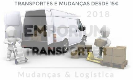 Transportes Mudanças e Aluguer de carrinha