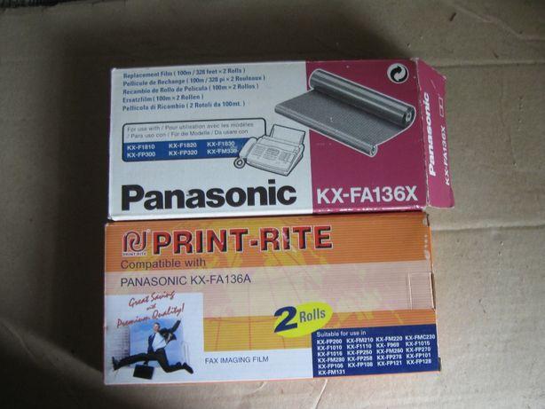 Пленка для факса PANASONIC KX-FA136x
