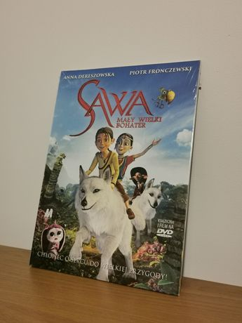 """Bajka DVD """"SAWA Mały wielki bohater"""" nowa folia"""