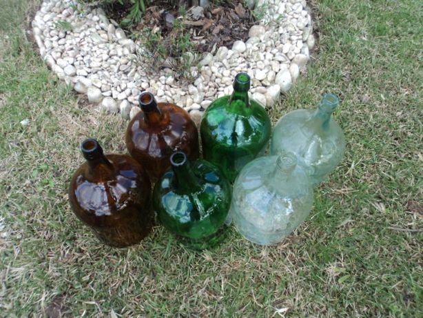 Garrafões de vidro 5-l