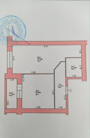 Терміновий продаж 1-кімнатної квартириGLM в зданій новобудові
