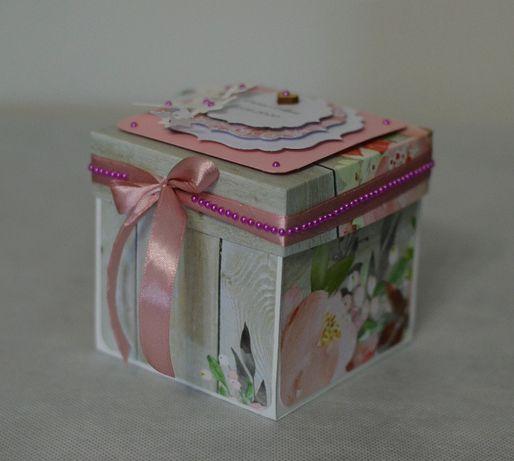 Exploding box - życzenia na Ślub, Pamiątka Ślubna