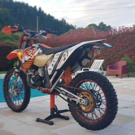 KTM 250exc de 2011 modelo factory