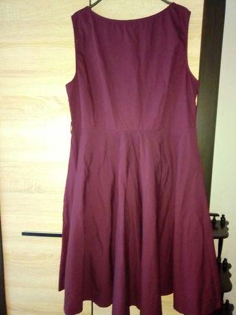 Платье большого размера бардо