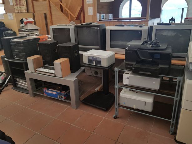 Impressoras e tvs