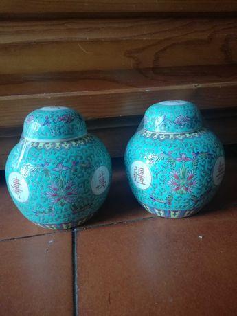 Potes chinês, porcelana chinesa