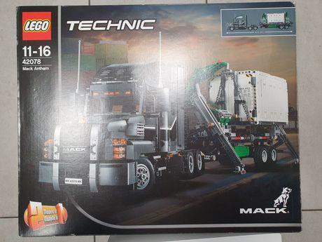 Nowe klocki Lego 42078 Mack Anthem odbiór na Śląsku