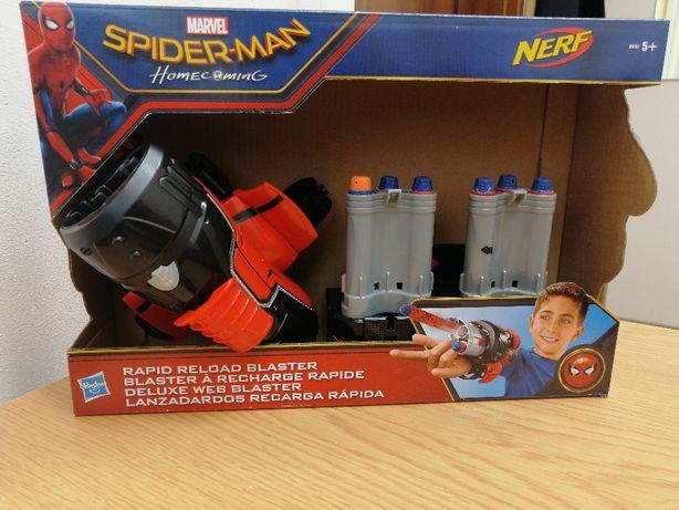 Marvel Spider-Man rapid reload blaster