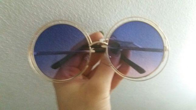 Oculos de sol redondos