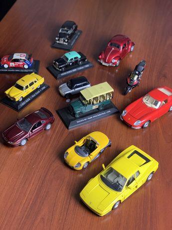 Carros miniatura para coleção