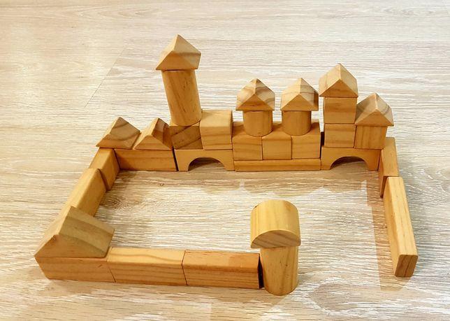 Klocki Drewniane Zabawka Dydaktyczna