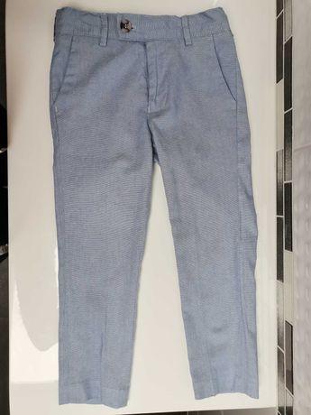 Eleganckie, galowe spodnie r. 104