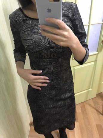 Чёрное,женское,элегантное платье